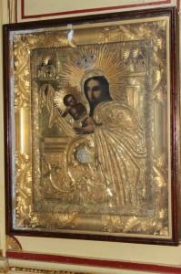 Икона Пресвятой Богородицы Феодоровской.
